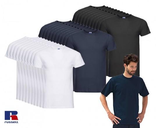 10-Pack Russell T-Shirts - Voorraadje Voor Een Extreem Scherpe Prijs!