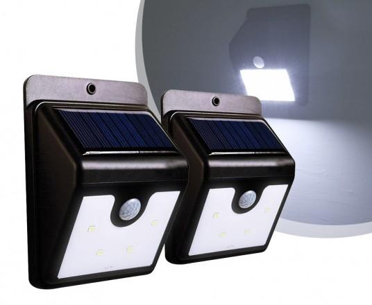 Solar LED Lamp Met Sensor - Vandaag 1+1 GRATIS!