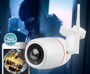 Outdoor 360 Graden Camera - Overal Live Of Achteraf Beelden Bekijken!