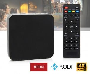 4K Ultra HD Mediaspeler - Ondersteunt Apps Als Netflix, Kodi & Meer!