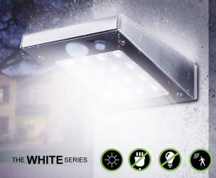 Solar LED Beveiligingslampen Met Bewegingssensor - Praktisch, Sfeervol En Inbraakpreventief!