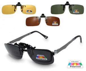 Polarized Clip-On Zonnebril - Verkrijgbaar Met 4 Kleuren Glazen!