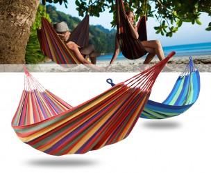 Comfortabele Grote Hangmat - Verkrijgbaar In 2 Zomerse Kleuren!
