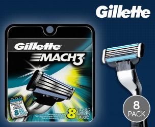 8-Pack 100% Originele Gillette Mach3 Scheermesjes!