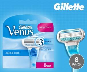 8-Pack 100% Originele Gillette Venus Scheermesjes!