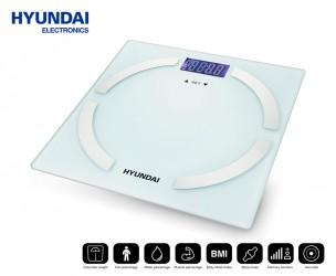 Hyundai Lichaamsanalyse Weegschaal - Meet Gewicht, BMI & Meer!