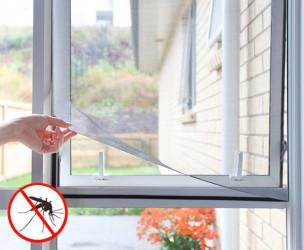 InnovaGoods Zelfklevend Muggenscherm Voor Ramen - Houd Muggen En Andere Insecten Buiten!