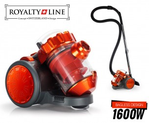 Royalty Line Multi-Cyclone Stofzuiger 1600W - Met Viervoudige Stoffilter!
