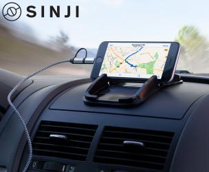 Sinji Sticky Pad - Voor Smartphone, GPS, Zonnebril & Meer!