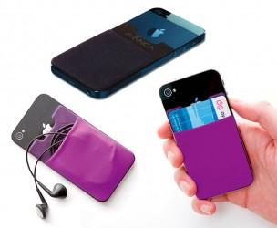 Smartphone Pouch - Voor Pasjes, Oordopjes En Meer!