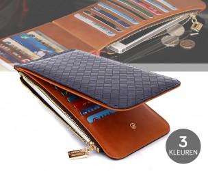 Stijlvolle Smartphone Wallet - Verkrijgbaar In 3 Kleuren!