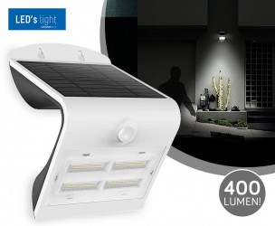 Solar LED Ultra Bright Muurlampen - Met Een Lichtsterkte Tot 400 Lumen!