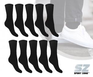 Voordeelpack Sokken Wit Of Zwart - Vul Je Voorraad Weer Aan!