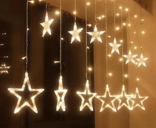 LED Sterrengordijn - Maak Jouw Huis En Tuin Klaar Voor De Kerst!