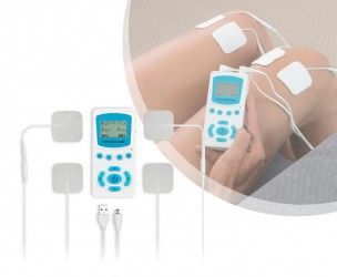 TENS Elektrostimulator - Verbeterd Bloedcirculatie, Ontspant En Verlicht Pijn!