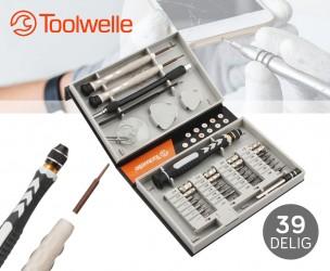 Toolwelle Uitgebreide Set Van Precisie Schroevendraaiers!