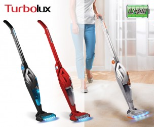 Turbolux 2-In-1 Snoerloze Accustofzuiger - Met Geïntegreerde Kruimeldief!