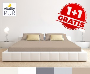 Luxe Vitality Pur Jersey Hoeslaken - Vandaag 1+1 GRATIS!