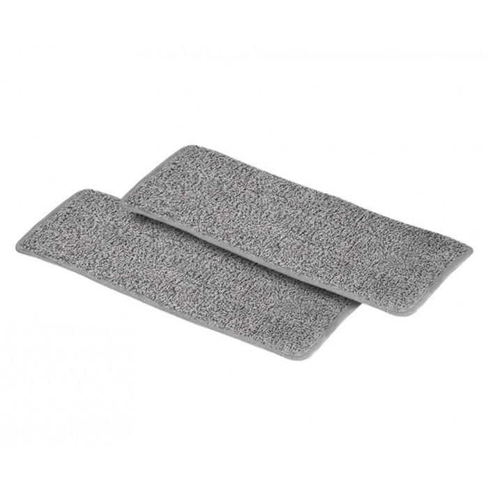2 Extra Pads Voor Flat Mop - Gemaakt Van Ultrafijn Microfiber!