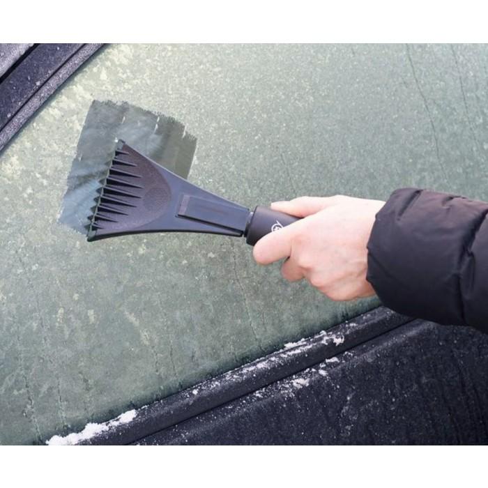 Dunlop IJskrabber Met Lange Steel - Must Have Voor De Winter!