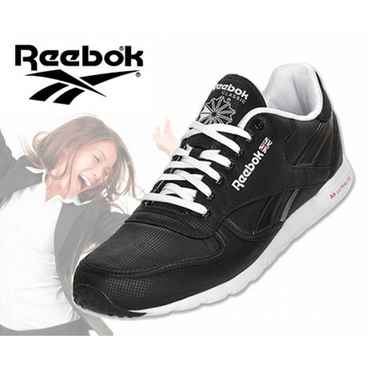 e0a8c0af0b0 Reebok Klassieke Leren Dames Sneaker - In De Kleur Zwart Wit! OP=OP ...