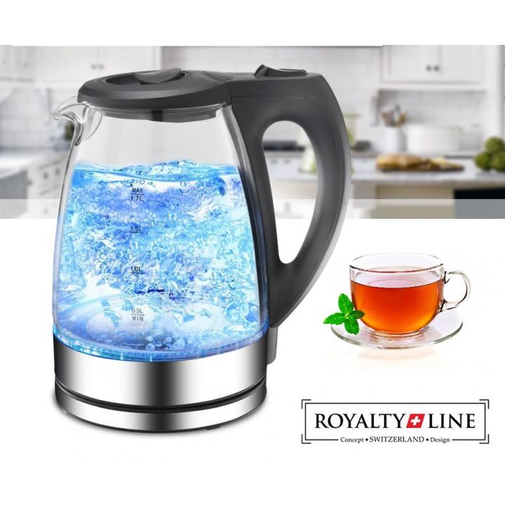Royalty Line Waterkoker Met LED Verlichting Met 1,7L Inhoud!