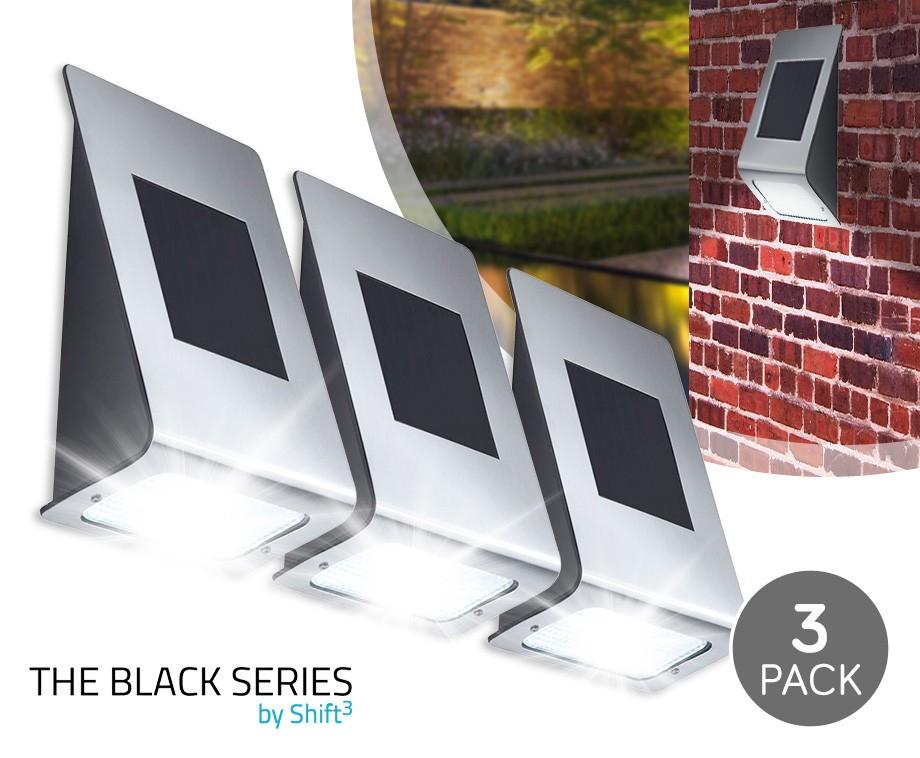 DUO-PACK Draadloze LED Solar Light - Zeer Eenvoudige Montage ...