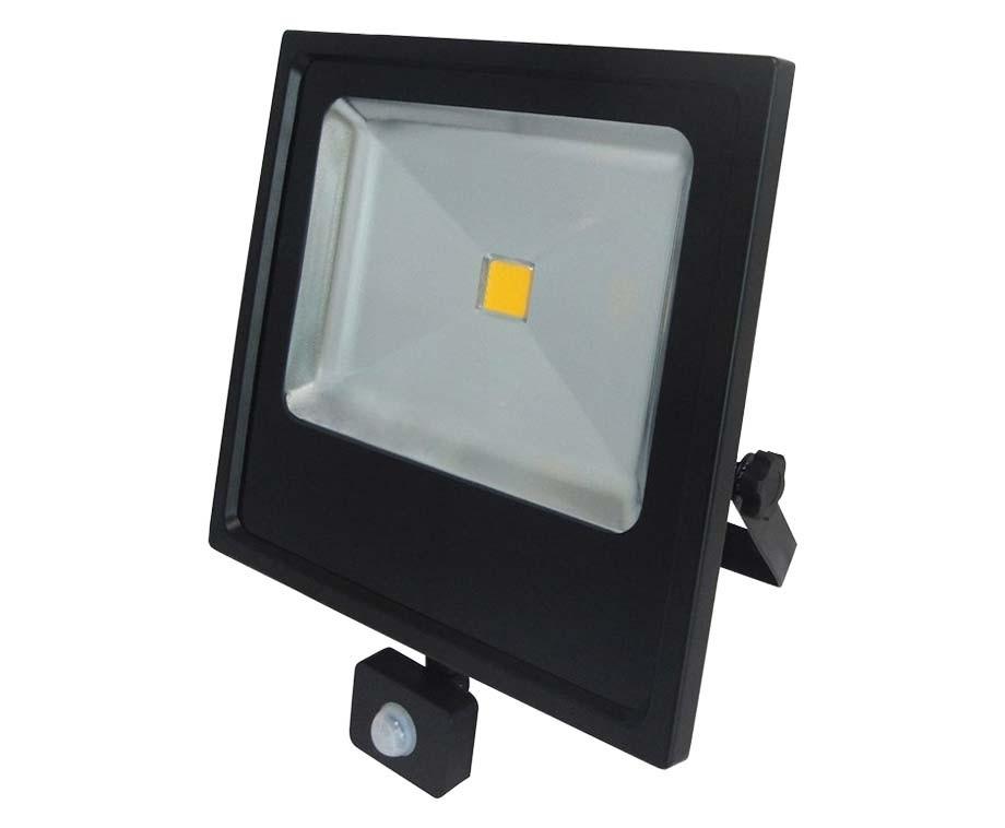 Top 50 Watt LED Straler Met Sensor - Extra Fel, 2300 Lumen GV09