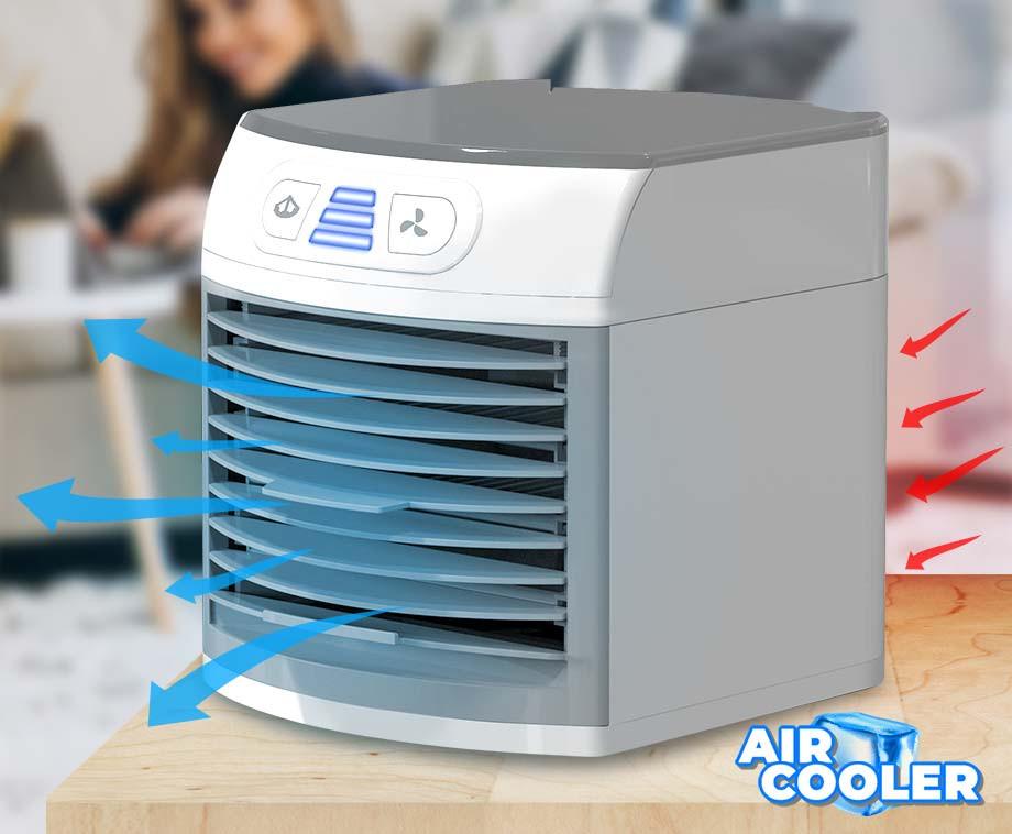 Air Cooler Met Verkoelende Mist - Krachtige Luchtkoeler Met Moodlight!