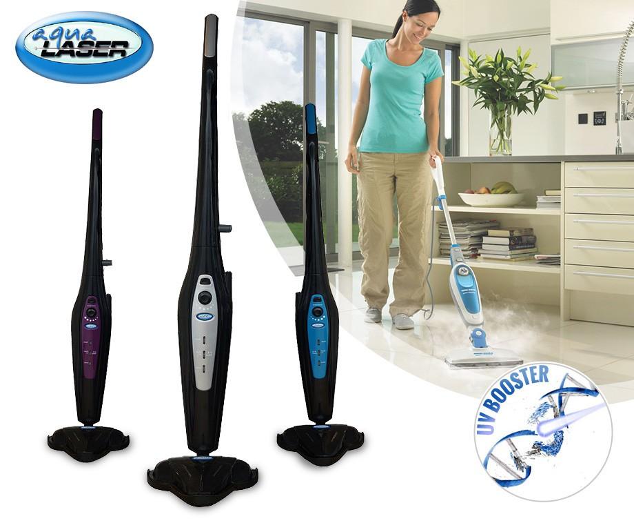 Aqua Laser UV Booster - Hygiënisch Schoon Met Stoom & UV-licht!
