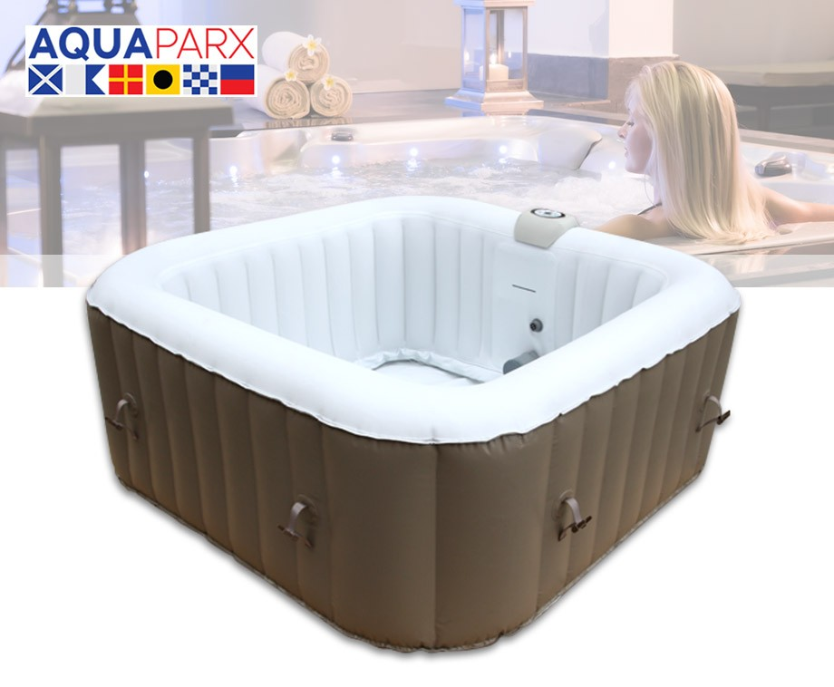 aquaparx spa jacuzzi ap600 geschikt voor 4 personen dagelijkse topaanbiedingen. Black Bedroom Furniture Sets. Home Design Ideas