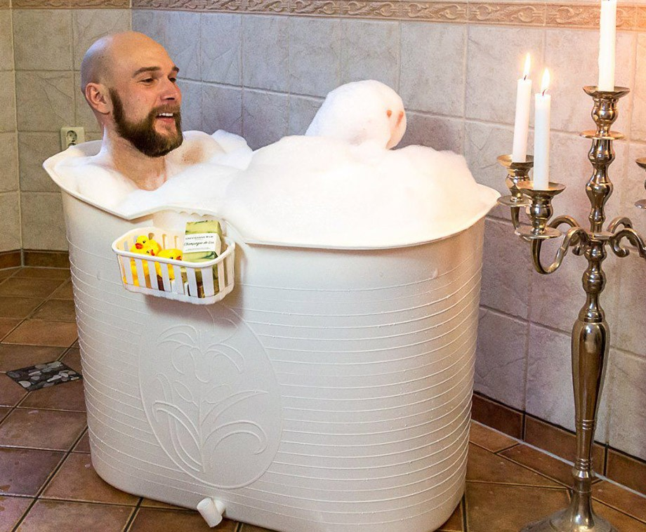 Bath Bucket - Geniet Thuis Van Een Heerlijk Warm Bad!