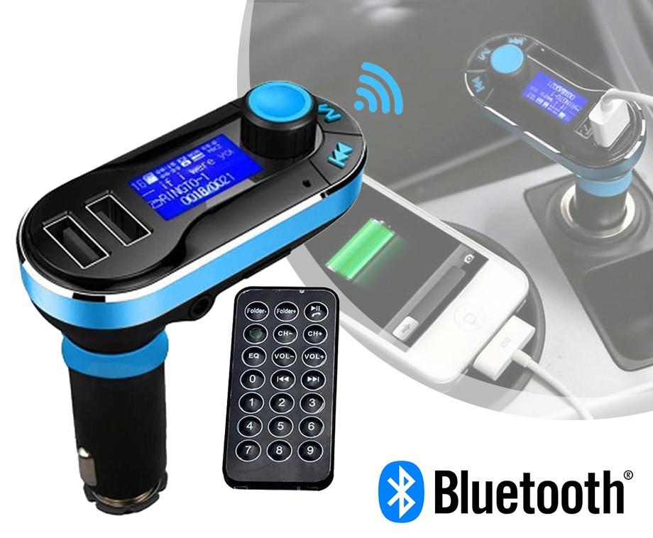 5-In-1 Bluetooth Carkit - Draadloos Muziek Spelen, Bellen En Meer!