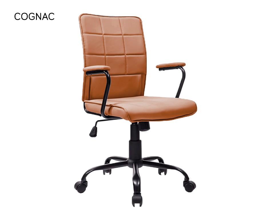 Cognac Leren Bureaustoel.Breazz Rector Bureaustoel Verkrijgbaar In 4 Kleuren Dagelijks