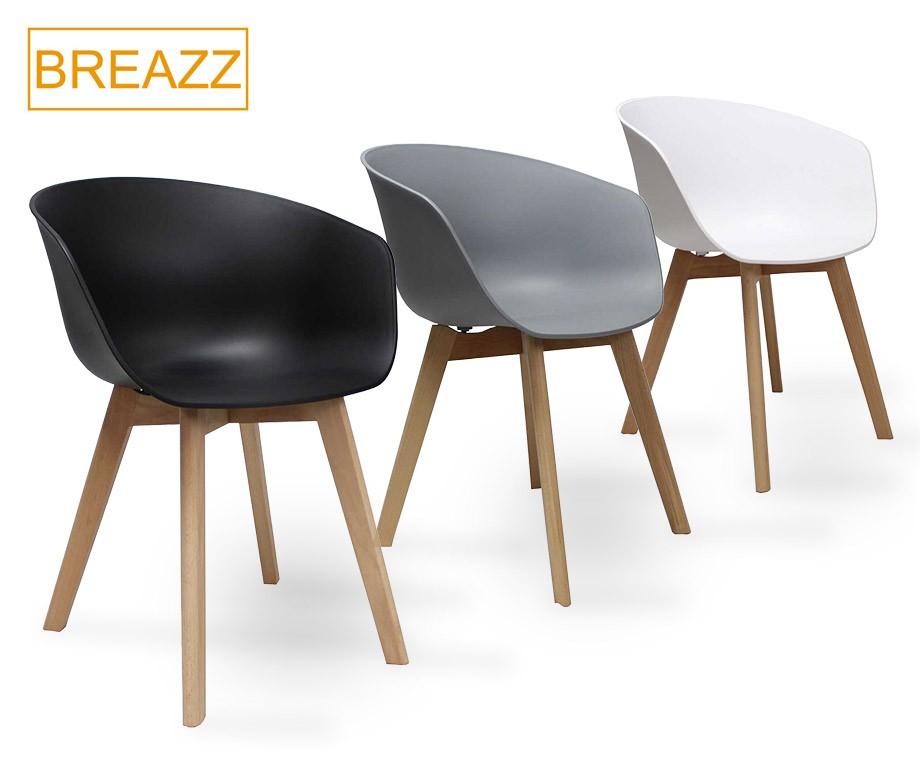 Breazz eetkamerstoelen met scandinavisch ontwerp for Eetkamerstoelen scandinavisch