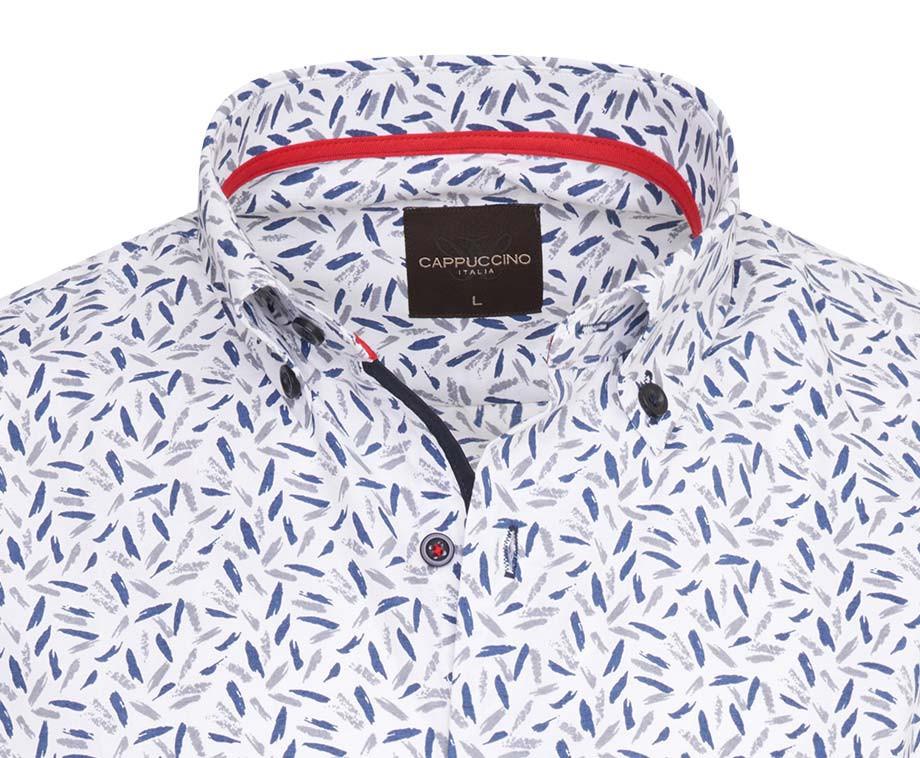 Cappuccino Italia Overhemden Met Print - 6 Kleuren In Maat S t/m 5XL!