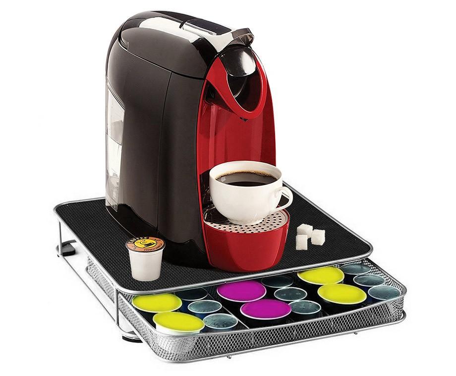 Koffie Capsule Houder En Standaard - Voor Onder Het Koffiezetapparaat!