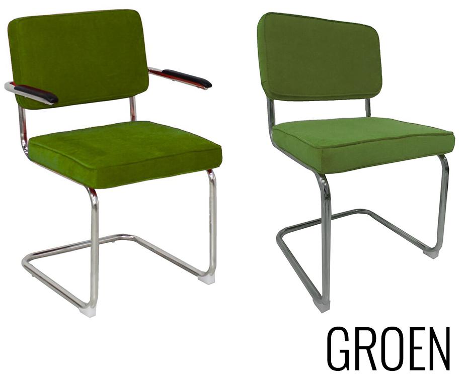 Stoel Met Leuning : Design rib stoel met of zonder leuning verkrijgbaar in 9
