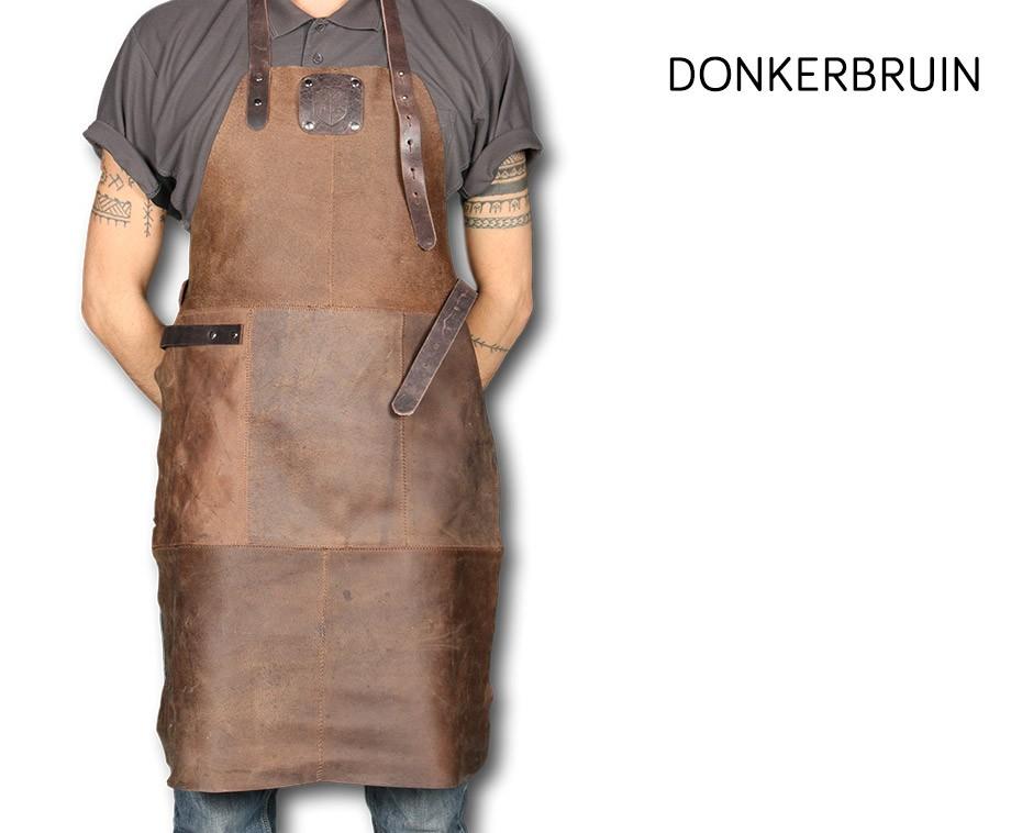 Dragon Knight Leren BBQ & Keukenschort In 3 Kleuren