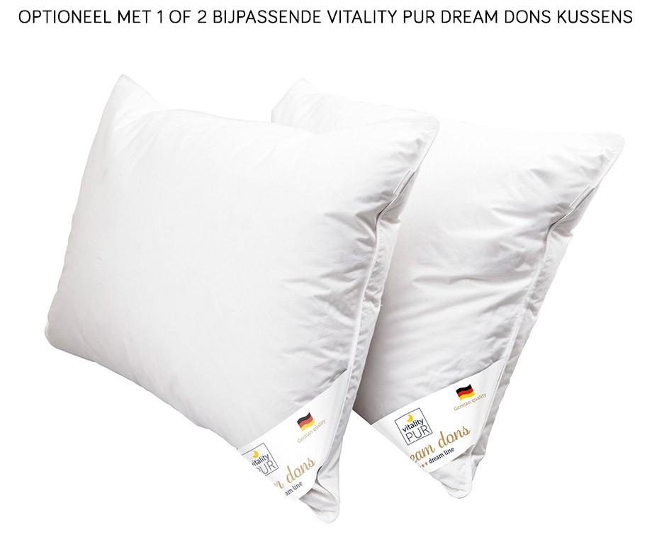 4-Seizoenen Dream Dons Dekbed Van Vitality Pur - Vulling Van Geselecteerd Dons En Donsveertjes!