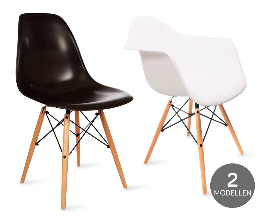 hippe design stoelen kies uit 2 modellen en kleuren