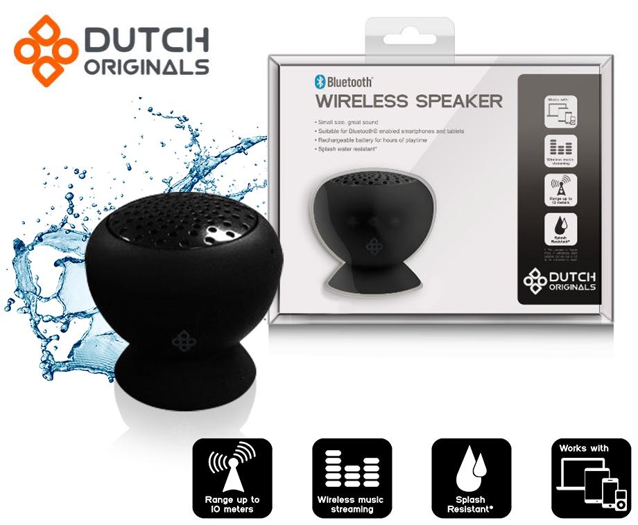 Waterdichte Bluetooth Speaker Met Zuignap - Perfect Voor Laptops ...