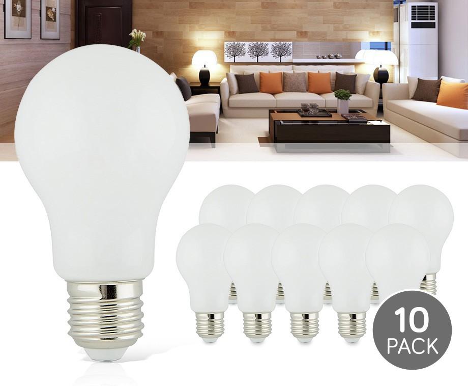10 pack e27 360 led lampen geeft sfeervol warm wit licht. Black Bedroom Furniture Sets. Home Design Ideas