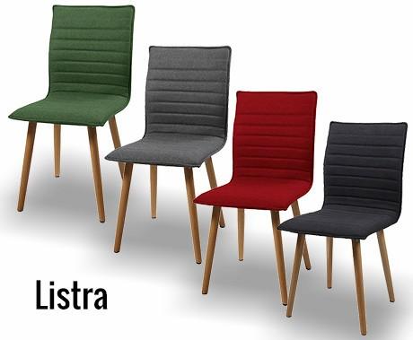 Tijdloos design eetkamerstoelen beschikbaar in 4 kleuren & 2