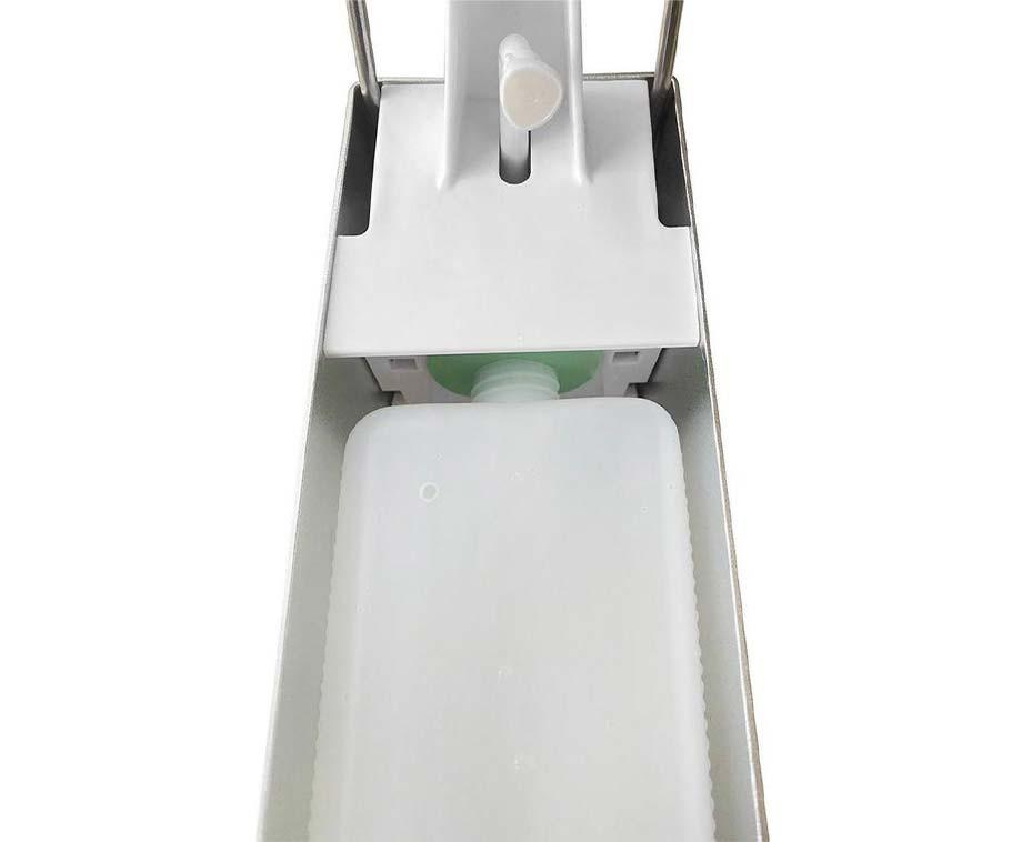 Professionele Elleboog Dispenser 1L - Voor Zeep En Desinfectiemiddel!