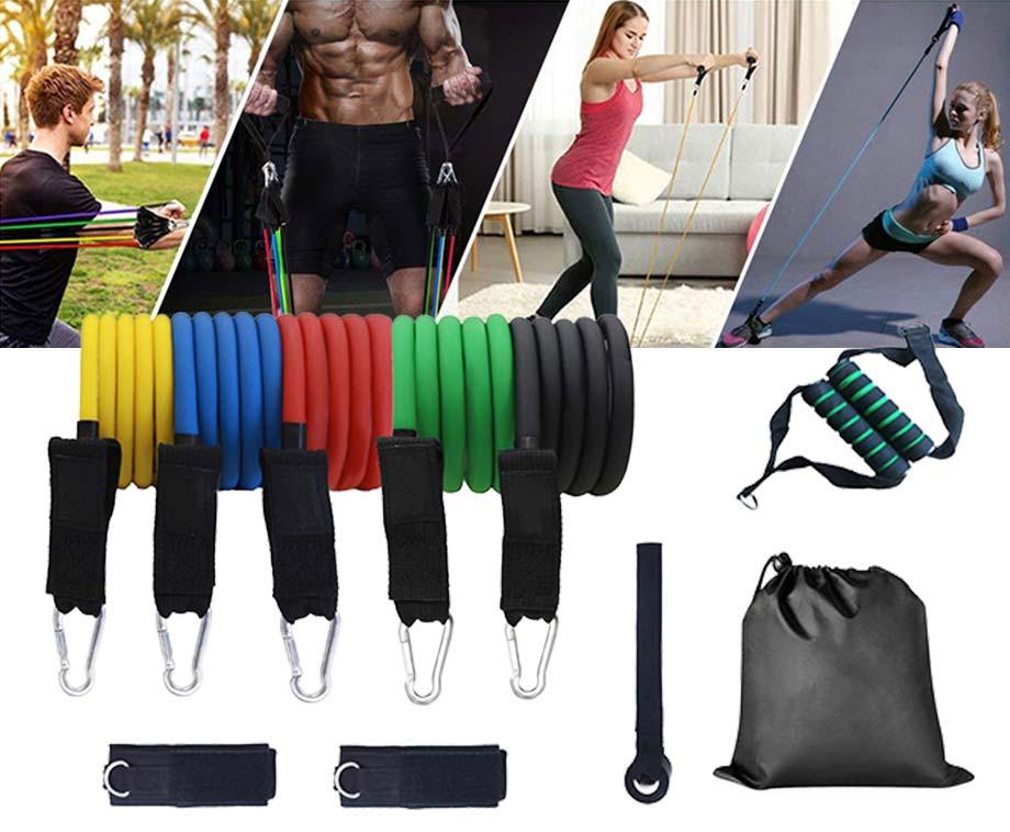 11-Delige Fitness Workoutset - Ideaal Voor Thuis Trainen!