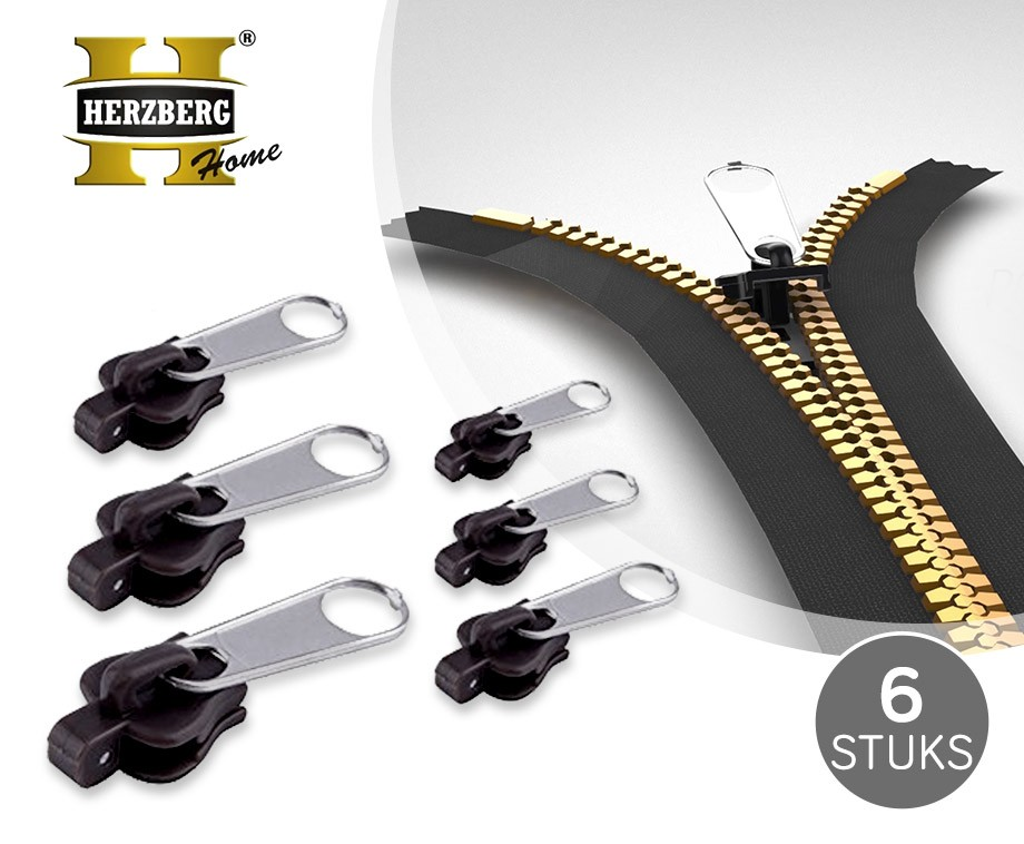 6-Pack Fix A Zipper - Herstel Kapotte Ritsen In Enkele Seconden!