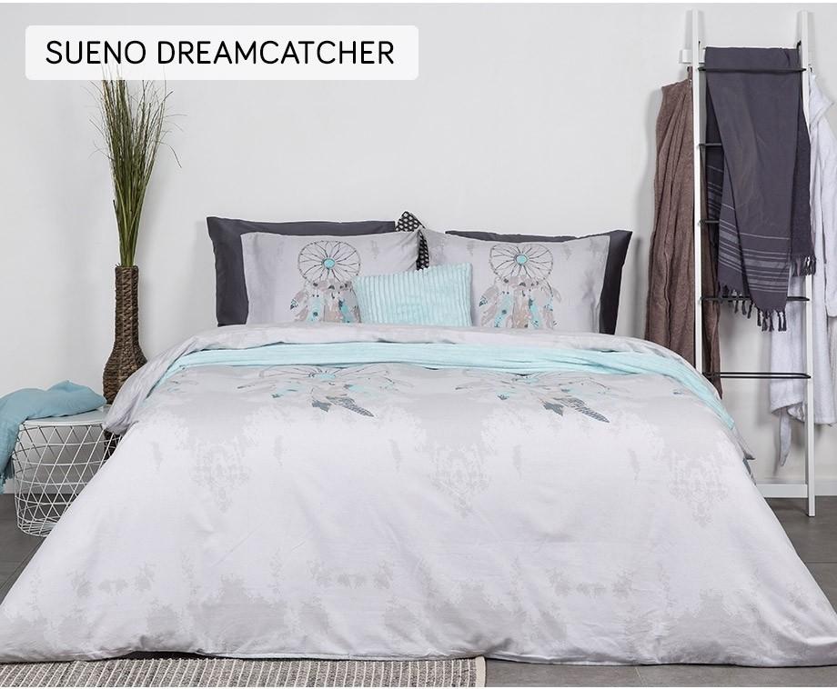 Nightlife dekbedovertrek flanel sueno dreamcatcher 140 x 200 220