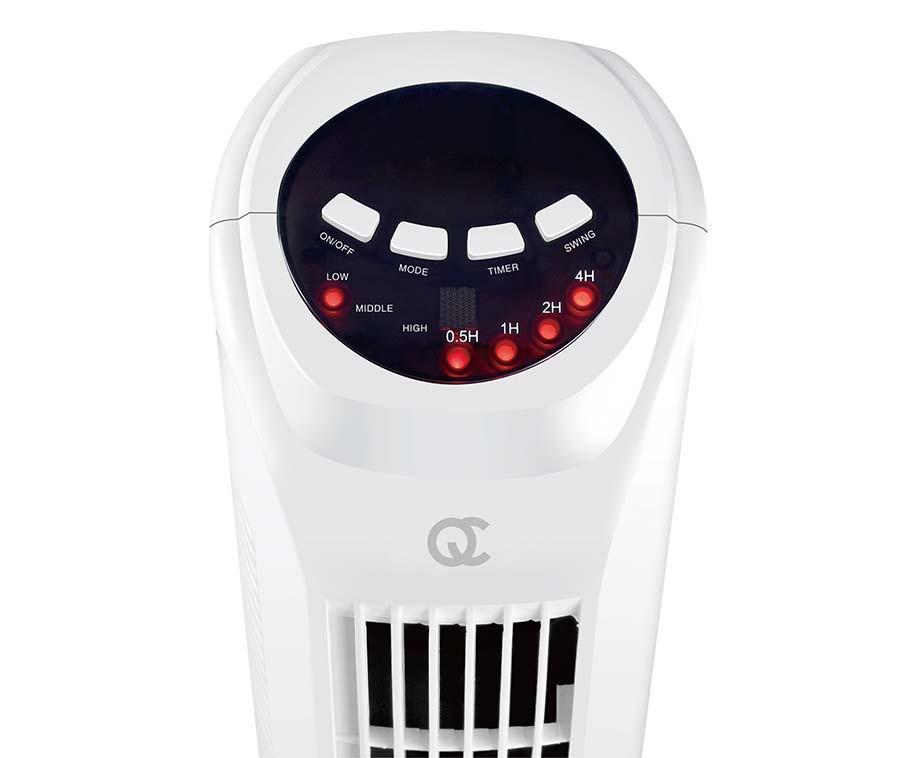 Luxe Geruisloze Torenventilator  - Met Handige Slaapmodus!