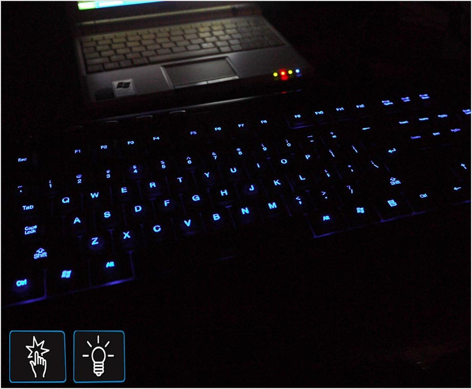 Ongebruikt Gembird LED Toetsenbord - Verlichte Toetsen In Het Donker ML-49
